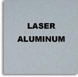 Aluminio Laserable Plata / Graba Negro