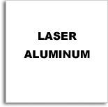 Aluminio Laserable Blanco / Graba Negro