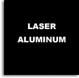 Aluminio Laserable Negro / Graba Blanco