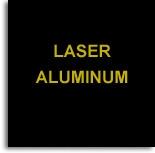 Aluminio Laserable Negro / Graba Oro