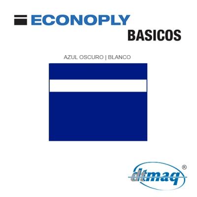 Econoply Básicos, Azul/Blanco, x Plancha