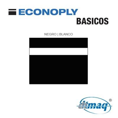 Econoply Básicos, Negro/Blanco, x Plancha