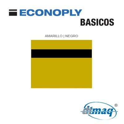 Econoply Básicos, Amarillo/Negro, x Plancha