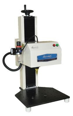 Marcadora de Micropercusión Neumática, marca plano de 300x200 mm.