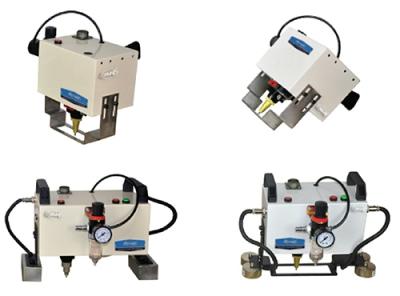 Marcadora de Micropercusión Portátil Neumática, de 80x25 mm.