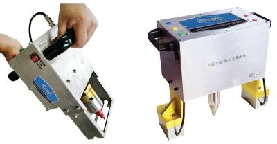Marcadora de Micropercusión Portátil Eléctrica, de 70x20 mm.