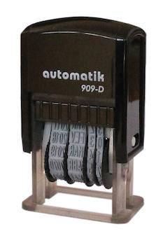 Sello Fechador Automatik 909-DS (20x5 mm. fecha 4 mm)